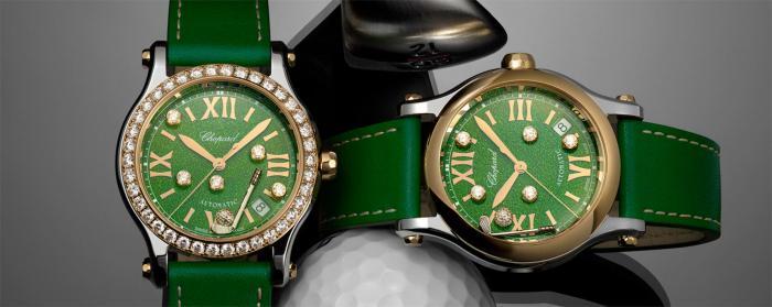 滑动于腕间的钻石与高尔夫:Chopard萧邦Happy Sport Golf腕表