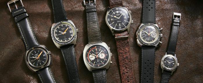 六款表展现上世纪60~70年代的浪琴潜水表篇章
