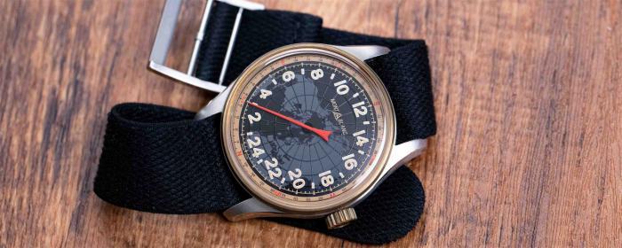 大有乾坤的一根指针,万宝龙1858单指针24小时显示自动腕表