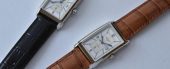 浪琴黛绰维纳系列分区式表盘腕表——浪琴新式小坦克