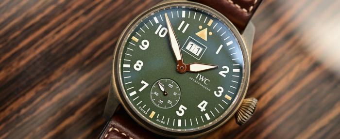 五款近期推出的优秀青铜腕表