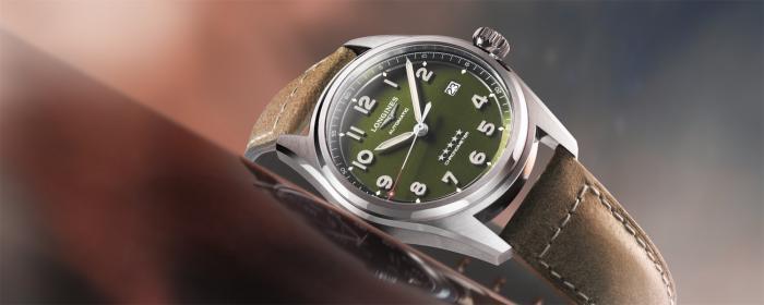浪琴表Spirit先行者系列推出绿色面盘腕表