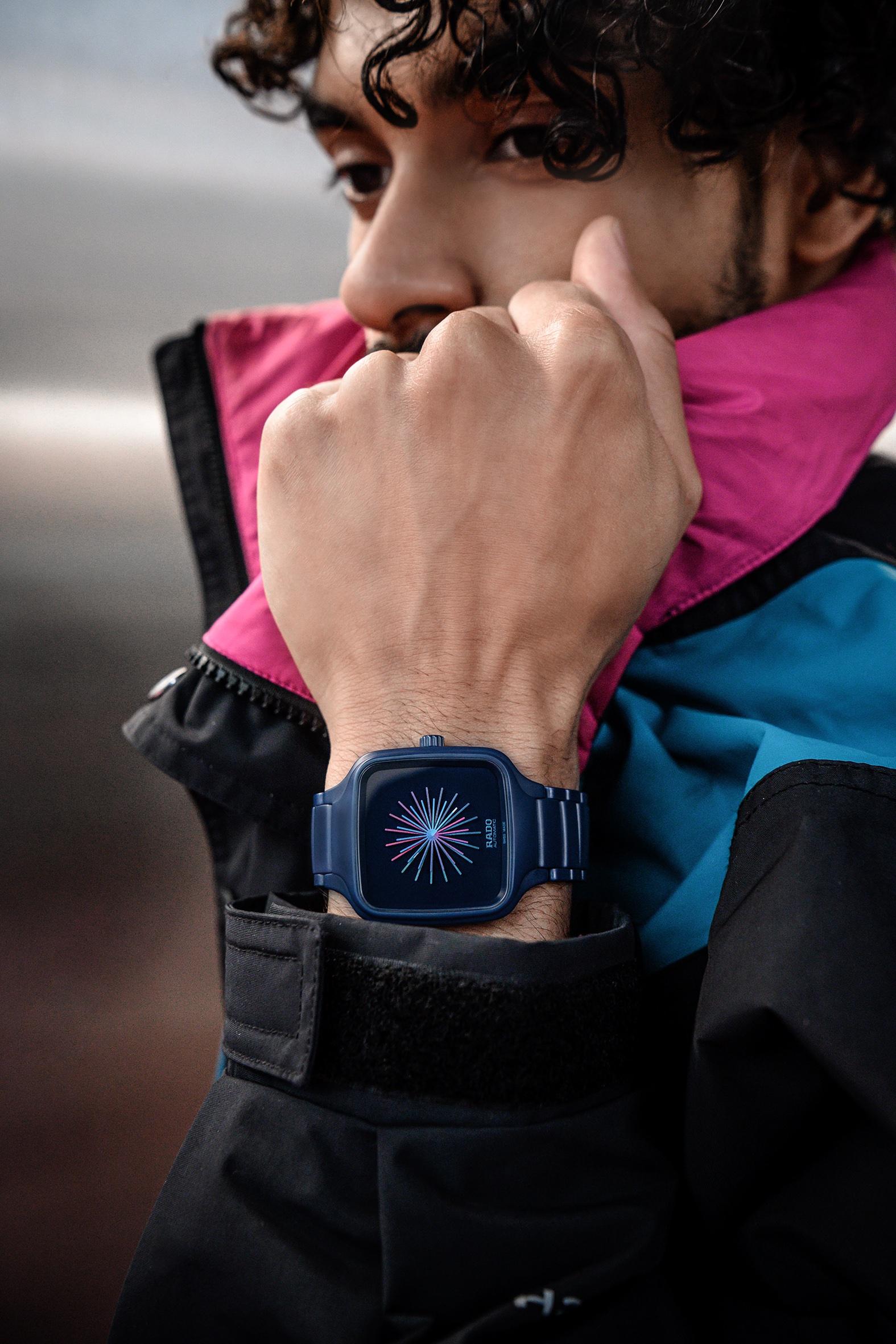 Rado瑞士雷达表True Square真我新生设计师款腕表上手图.jpg