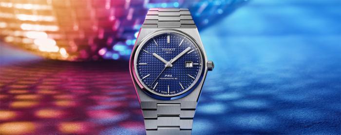 天梭全新推出PRX系列机械款腕表
