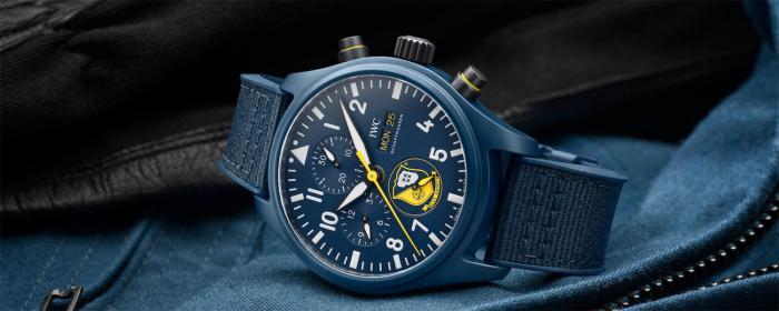 IWC万国表飞行员系列再添陶瓷材质计时腕表