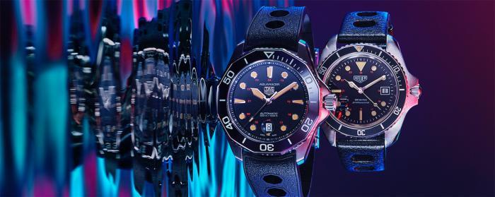 泰格豪雅竞潜系列Professional 300腕表(Aquaracer Professional 300)家族再添魅力新作