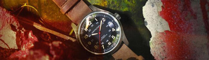 汉米尔顿《孤岛惊魂®6》野战系列腕表于屏幕内外为您提供持久精准计时