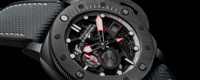 沛纳海携手巴博斯(BRABUS)推出搭载镂空自动上链机芯的高端腕表
