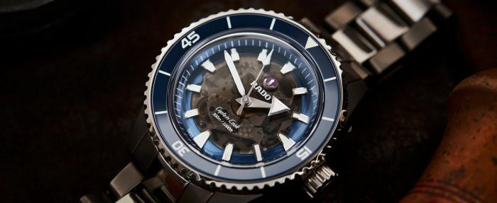 雷达库克船长系列高科技陶瓷腕表——时髦船长