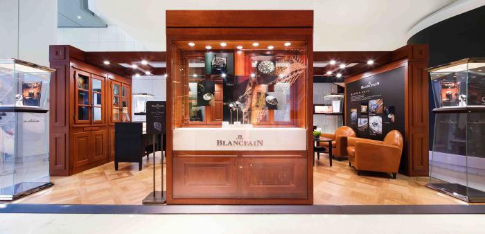 藏不住的尊贵,致胜人生----宝珀Blancpain经典V系列腕表展合肥盛大开幕