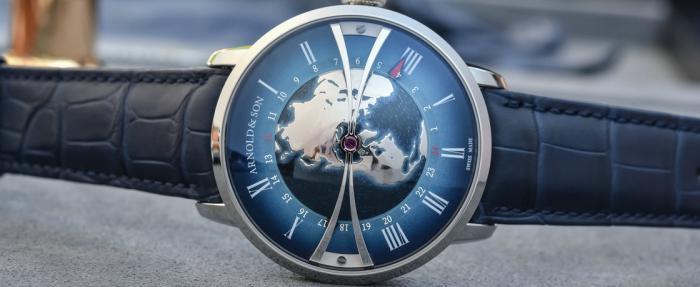 Arnold & Son亚诺Globetrotter腕表——一款地理及格才能使用的世界时腕表