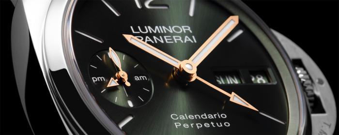 沛纳海推出LUMINOR PERPETUAL CALENDAR GOLDTECHTM万年历腕表与LUMINOR PERPETUAL CALENDAR PLATINUMTECHTM万年历腕表