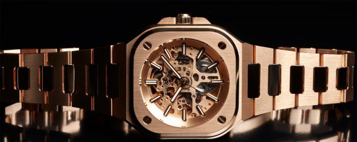 Bell & Ross柏莱士发布新款BR 05 Skeleton GOLD