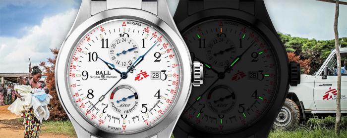 Ball Watch推出Engineer Master II MSF Humanity和Trainmaster MSF Humanity「无国界医生」版本表款