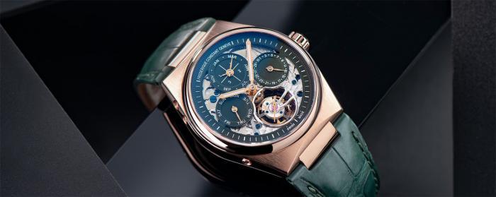 康斯登推出Highlife陀飞轮万年历自制机芯系列腕表