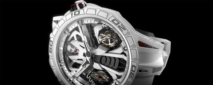 罗杰杜彼新款Excalibur Spider系列Countach DT/X腕表