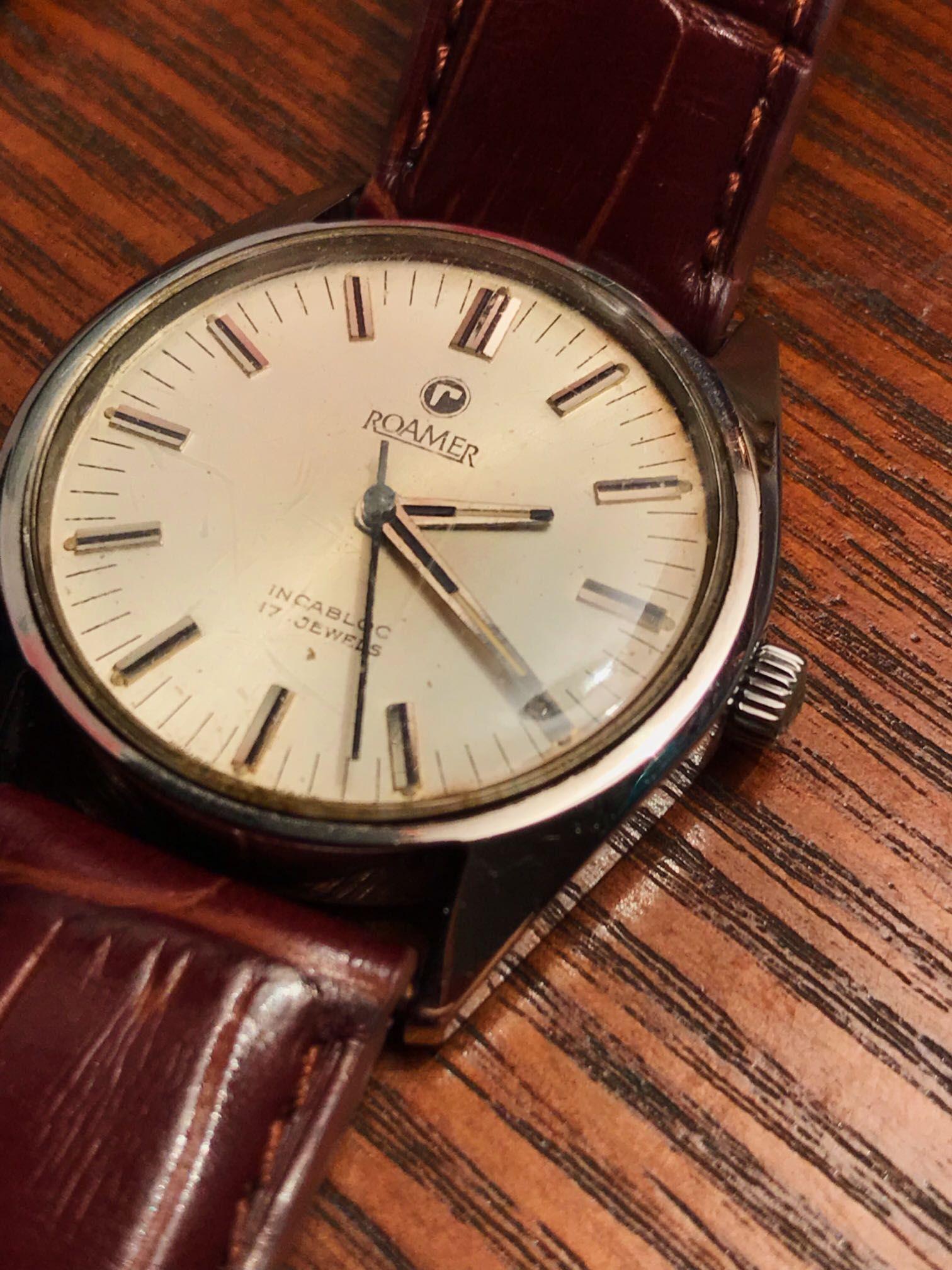 我不会只为了复古而去买老表(这块是父亲参加工作的表,购于72...