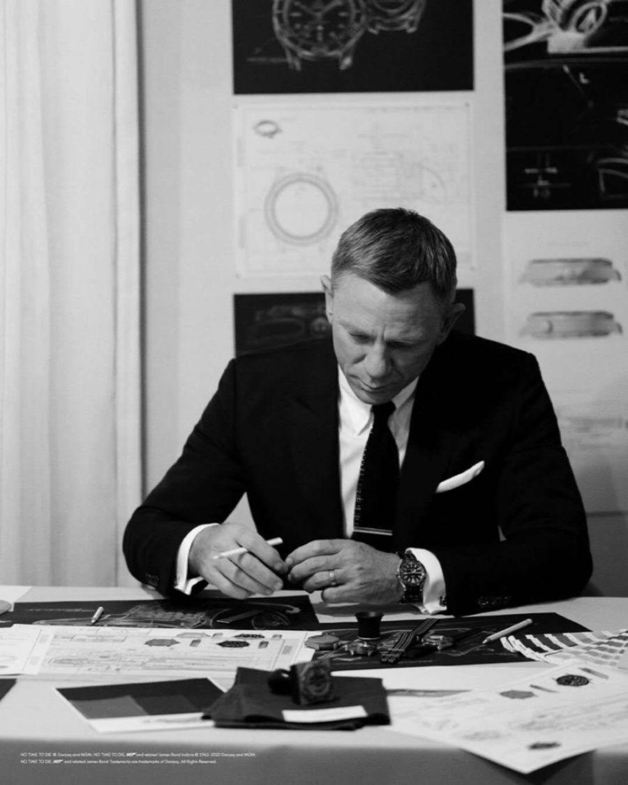 一个特工不搞谍战改设计手表去了根本无暇赴死~#Bondwatch#
