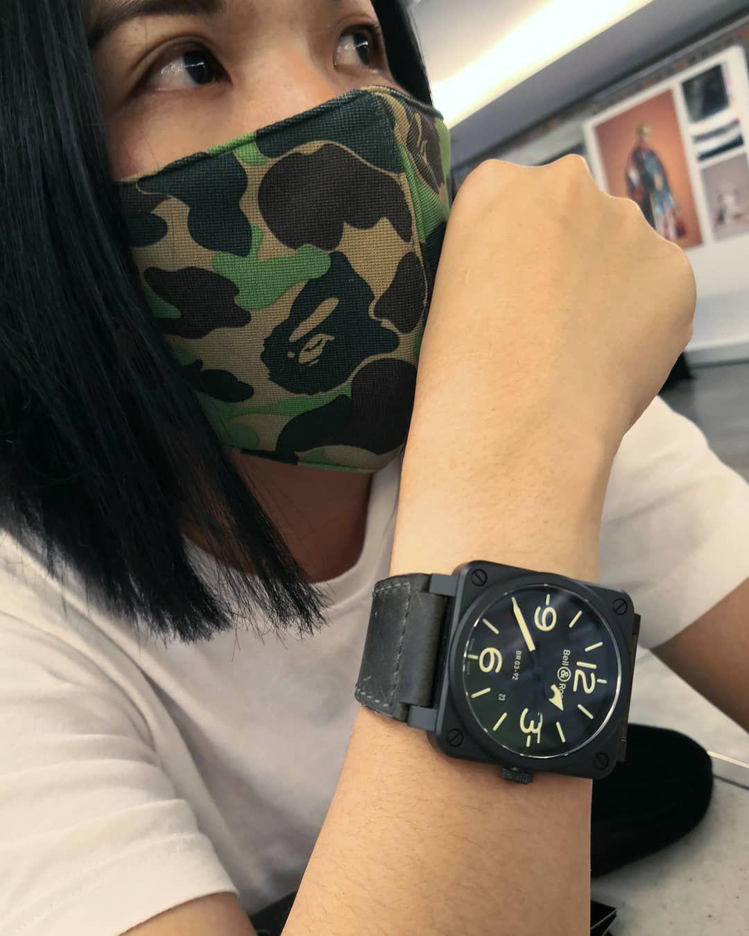 今天这口罩一戴,回头率陡然升高,难道是看我像恐怖分子?