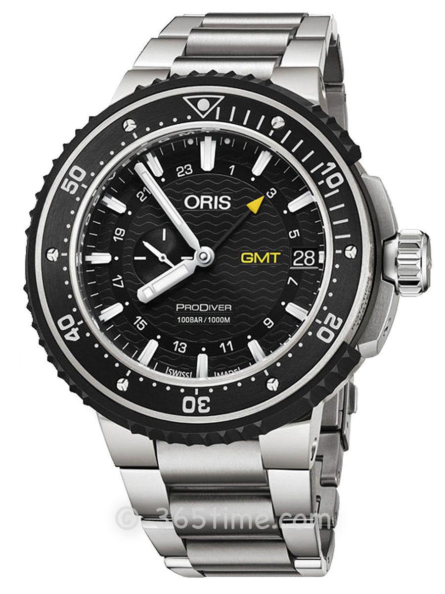 豪利时潜水系列GMT腕表01 748 7748 7154-07 8 26 74PEB