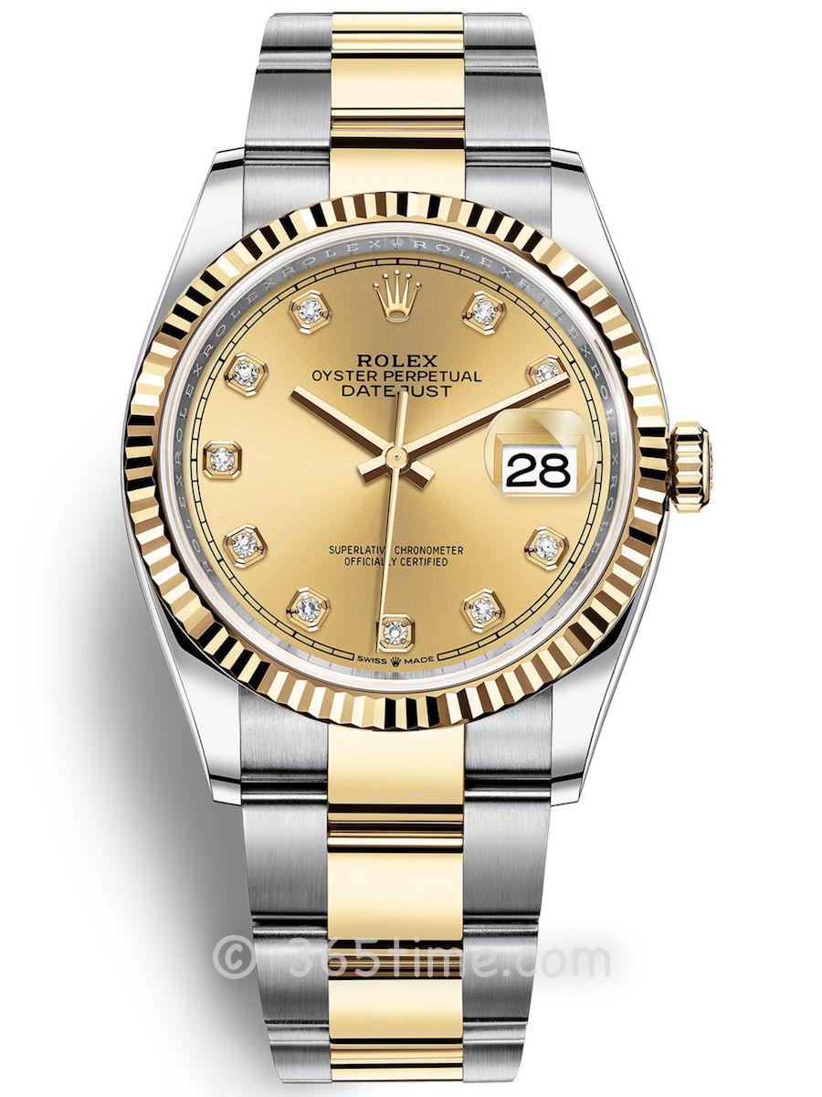 Rolex劳力士蚝式恒动日志型36男士手表126233-0018