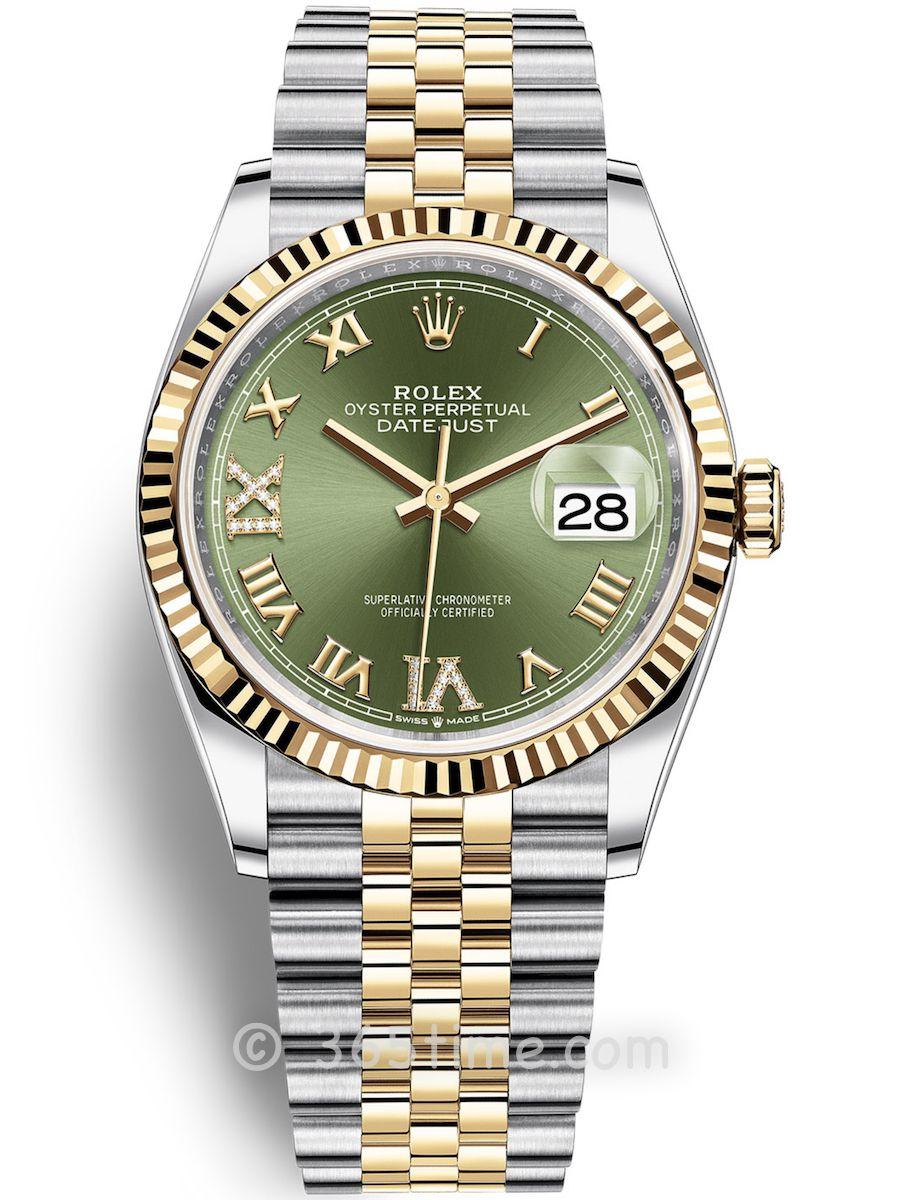 Rolex劳力士蚝式恒动日志型36男士手表126233-0025