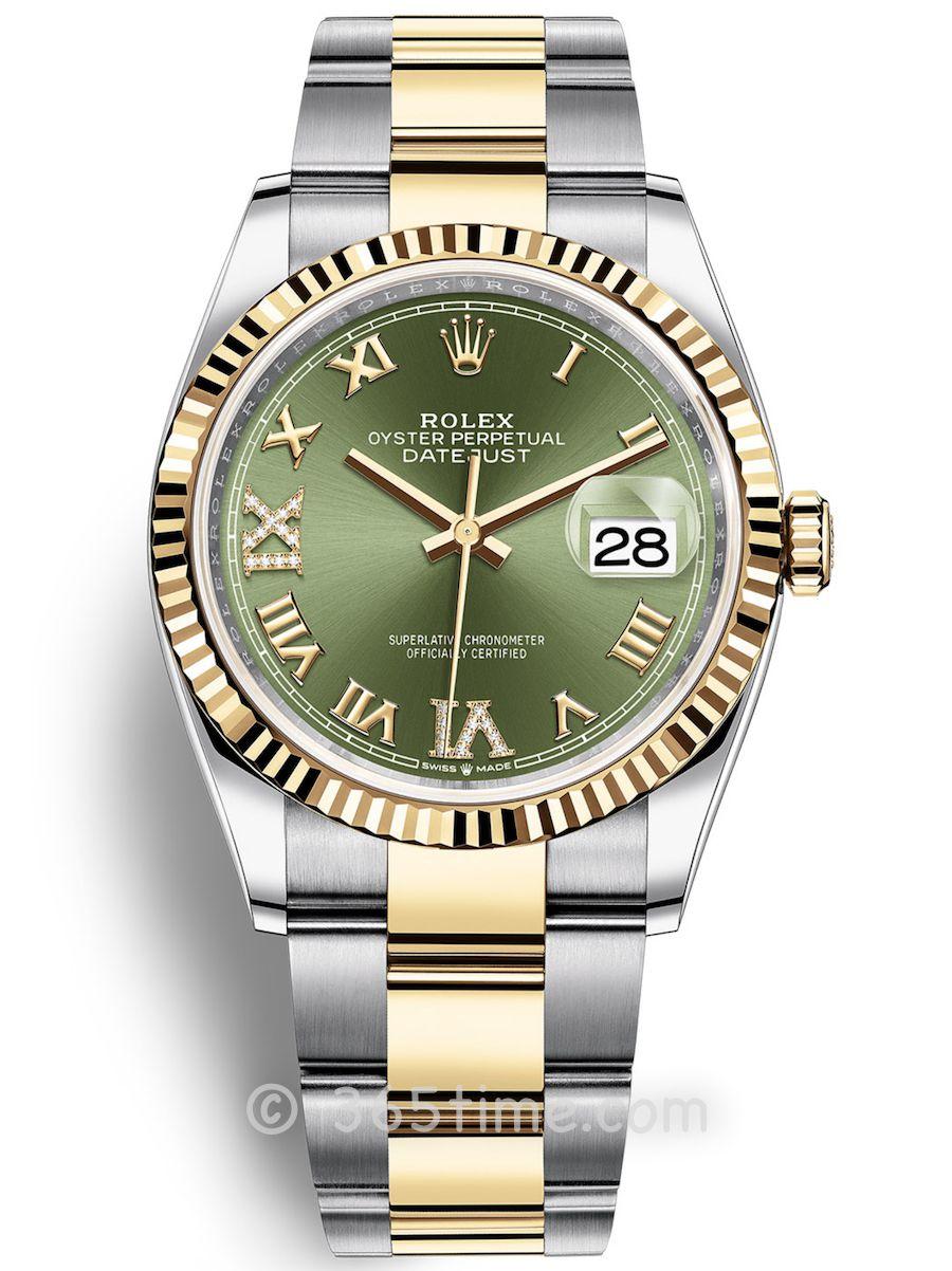 Rolex劳力士蚝式恒动日志型36男士手表126233-0026