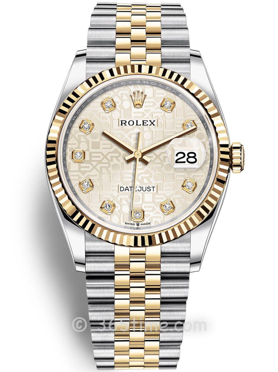Rolex劳力士蚝式恒动日志型36男士手表126233-0027
