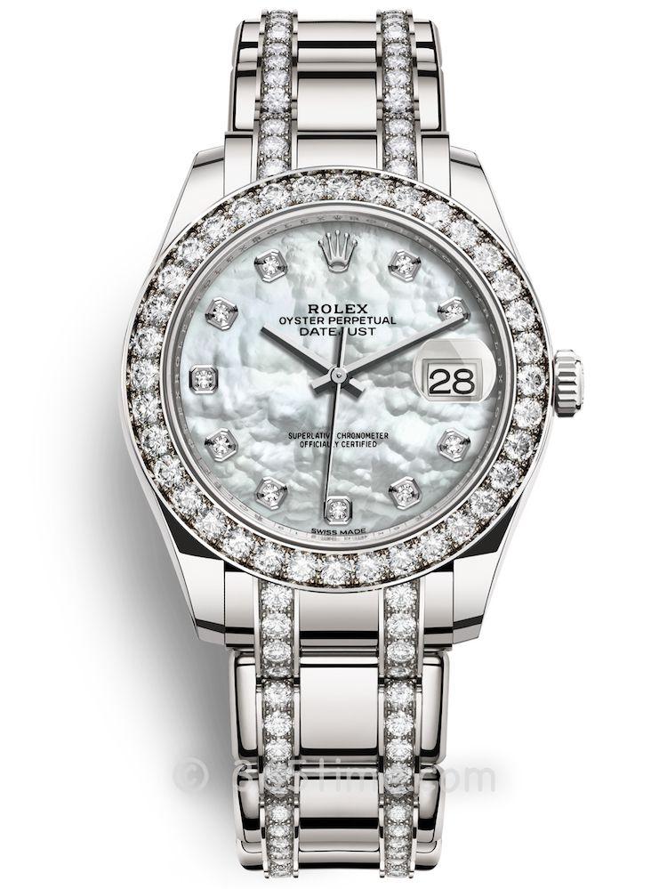 Rolex劳力士蚝式女装系列日志珍珠淑女型39腕表86289-0002