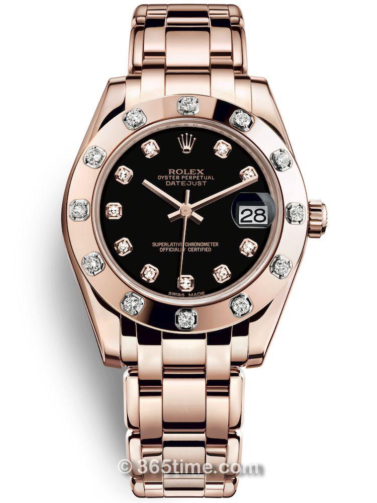 Rolex劳力士蚝式女装系列日志珍珠淑女型34腕表81315-0005