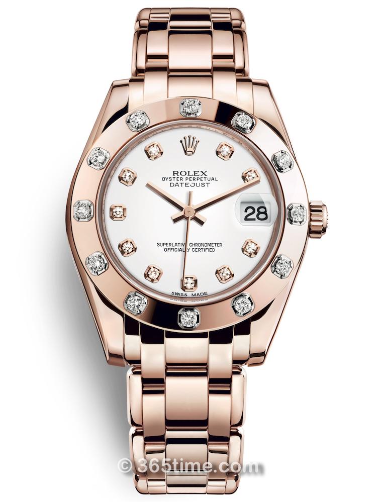 Rolex劳力士蚝式女装系列日志珍珠淑女型34腕表81315-0019