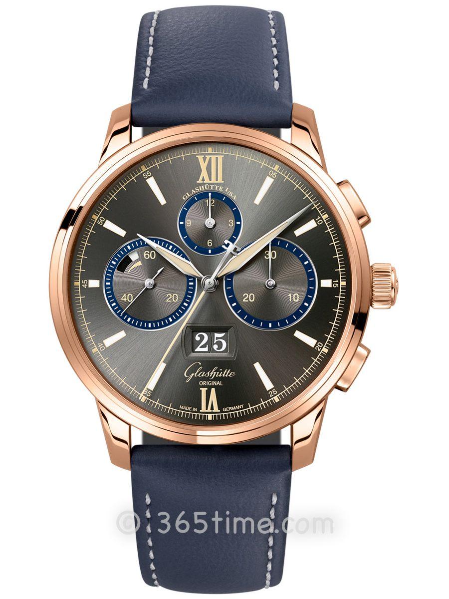 格拉苏蒂原创议员计时腕表1-37-01-04-05-35
