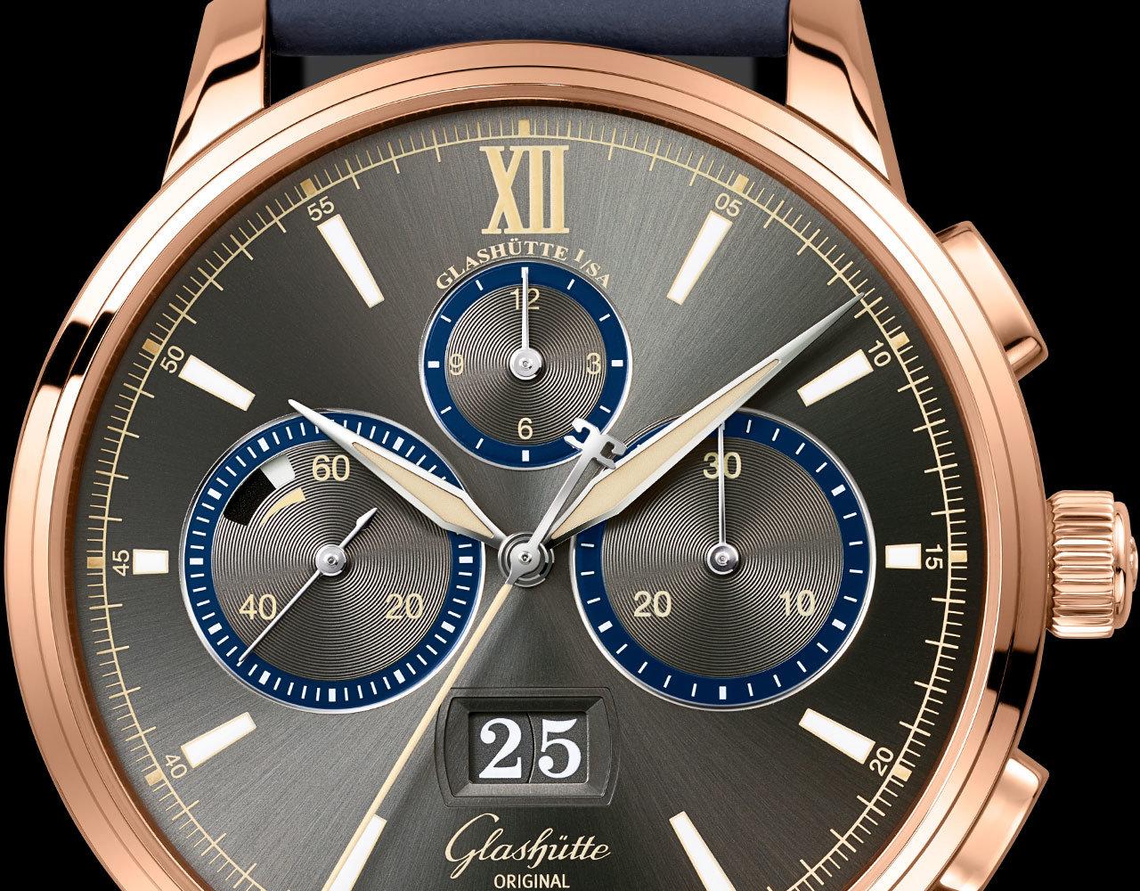 格拉苏蒂原创议员计时腕表1-37-01-04-05-55