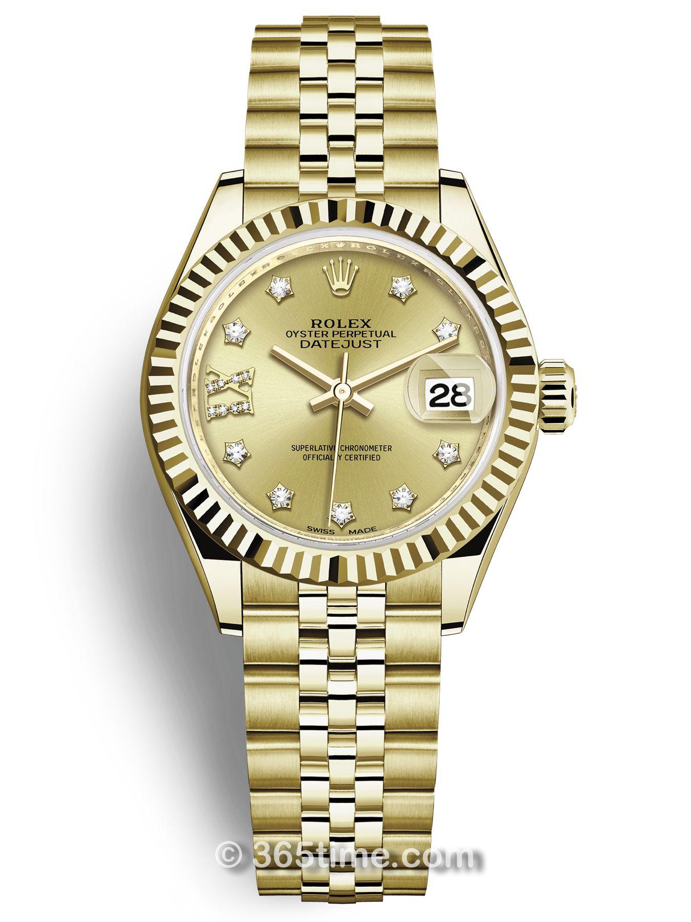 Rolex劳力士女装日志型28手表279178-0014