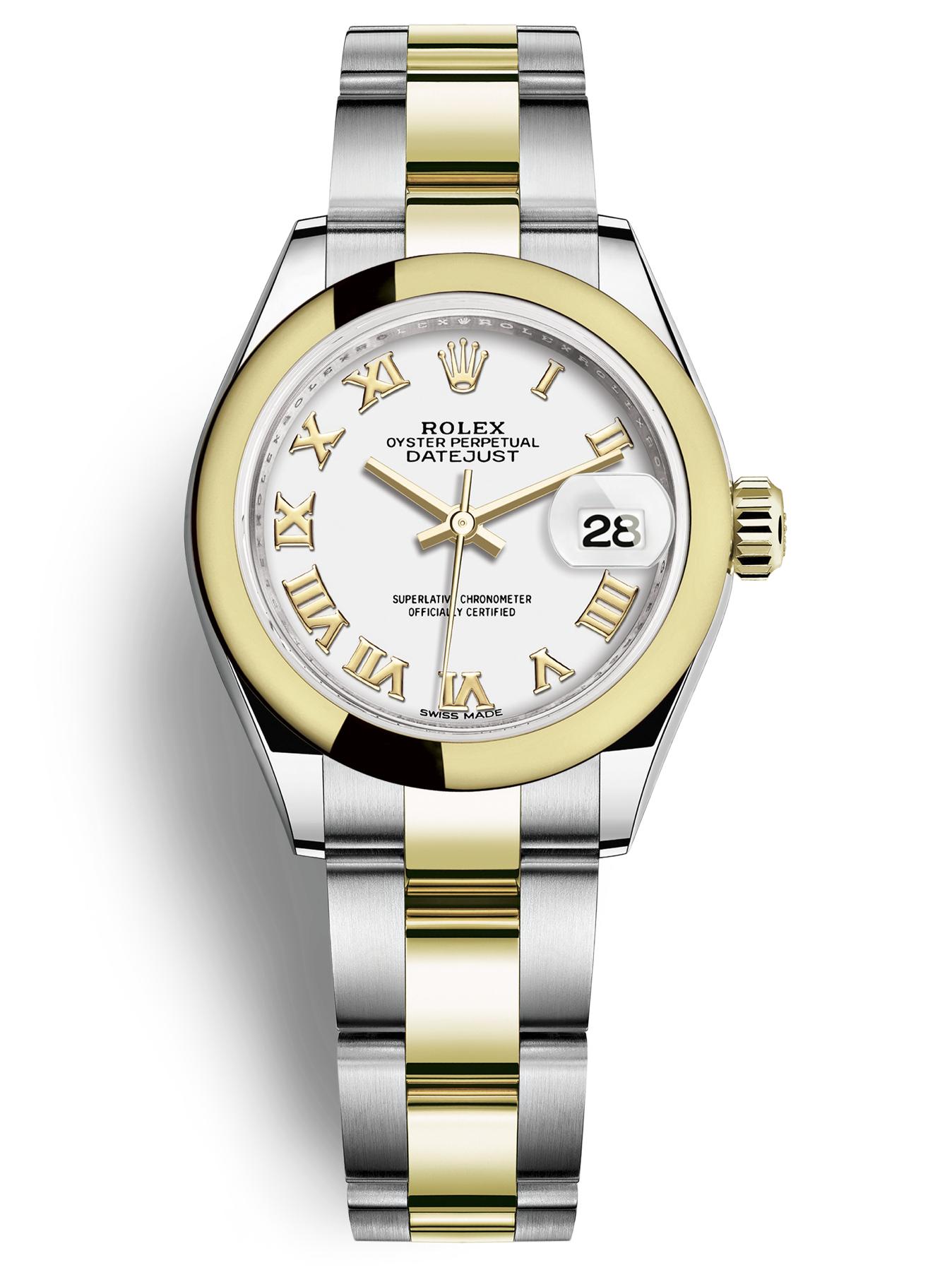 Rolex劳力士蚝式恒动女装日志型28手表279163-0024