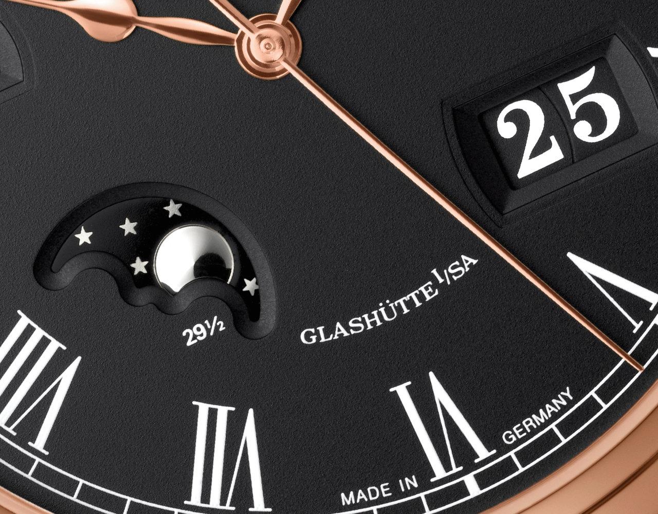 格拉苏蒂原创Senator Perpetual Calendar 议员万年历腕表100-02-25-05-50