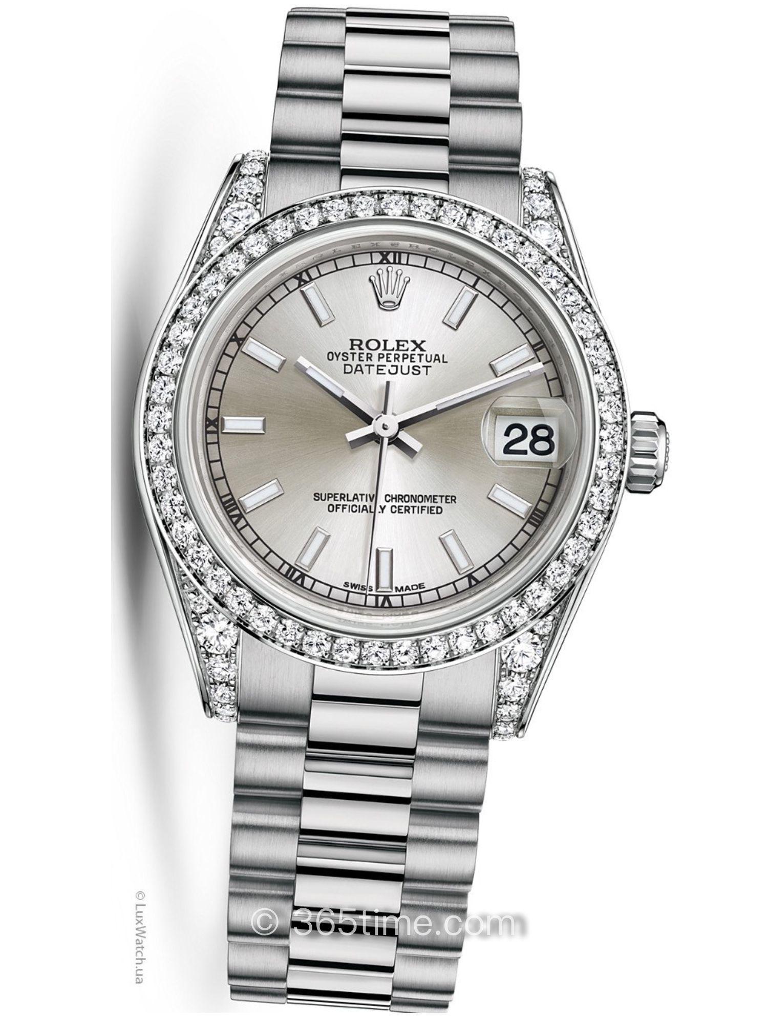 Rolex劳力士女装日志型31手表178159-0018