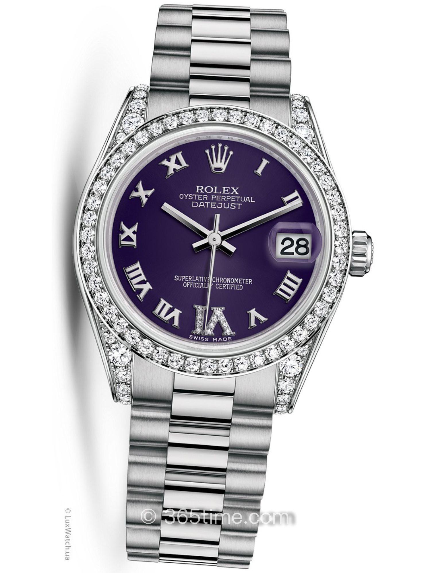Rolex劳力士女装日志型31手表178159-0064