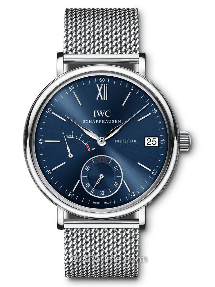 万国柏涛菲诺手动上链八日动力储备腕表IW510116