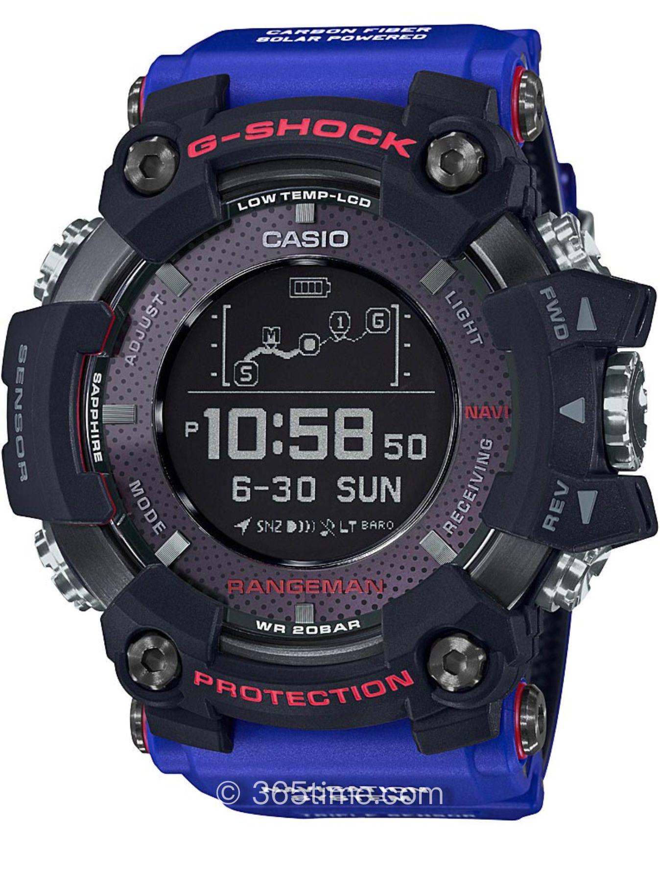 卡西欧G-SHOCK推出达喀尔冠军限量联名表款GPR-B1000TLC-1