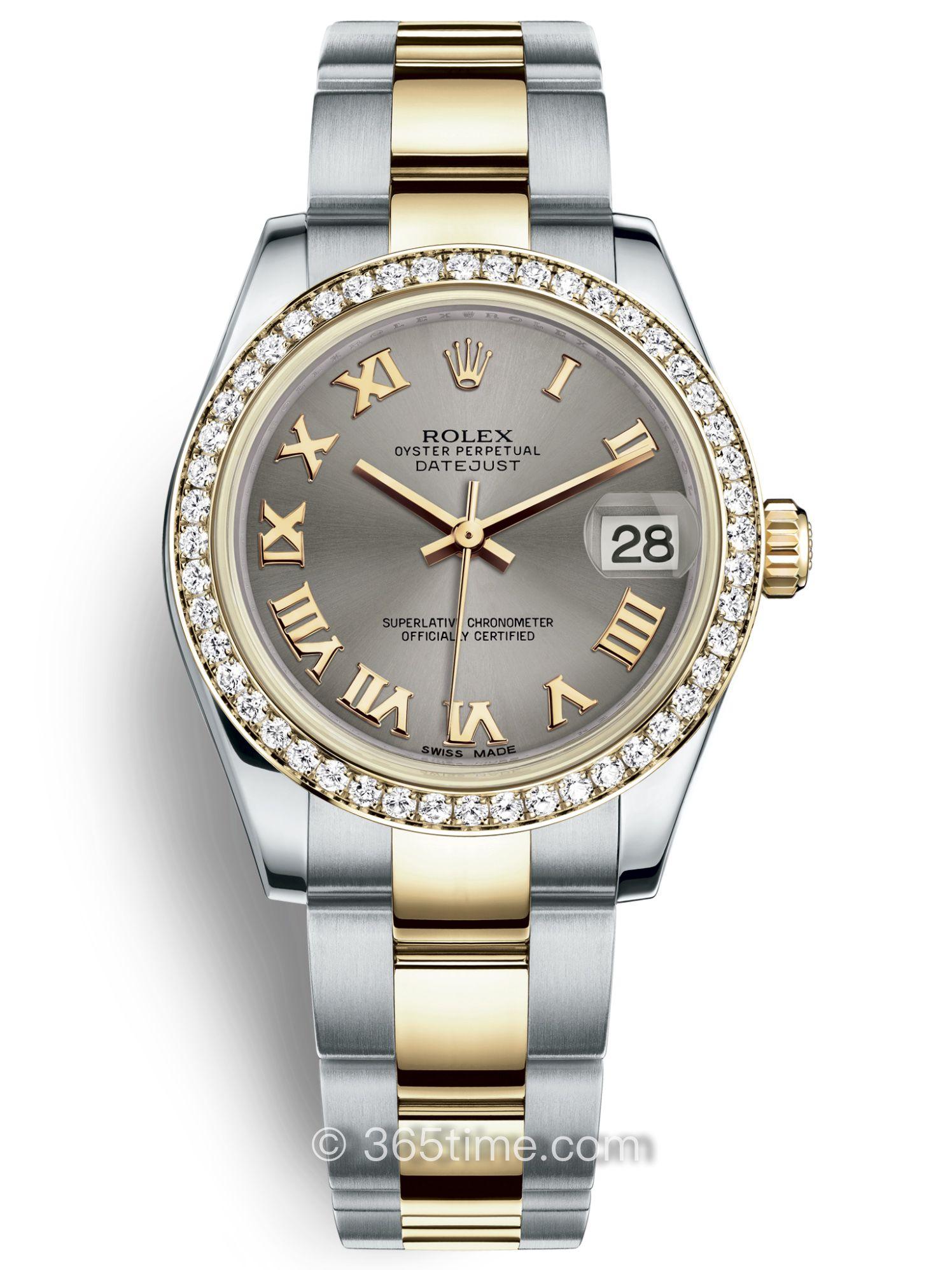Rolex劳力士女装日志型31腕表178383-0046