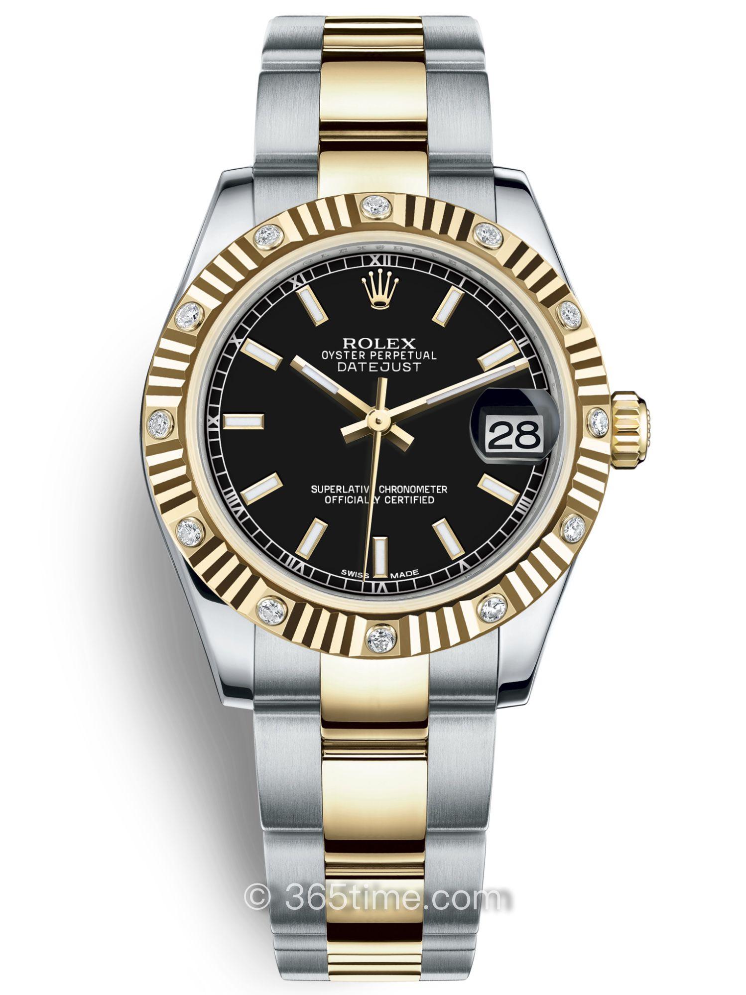Rolex劳力士女装日志型31腕表178313-0036