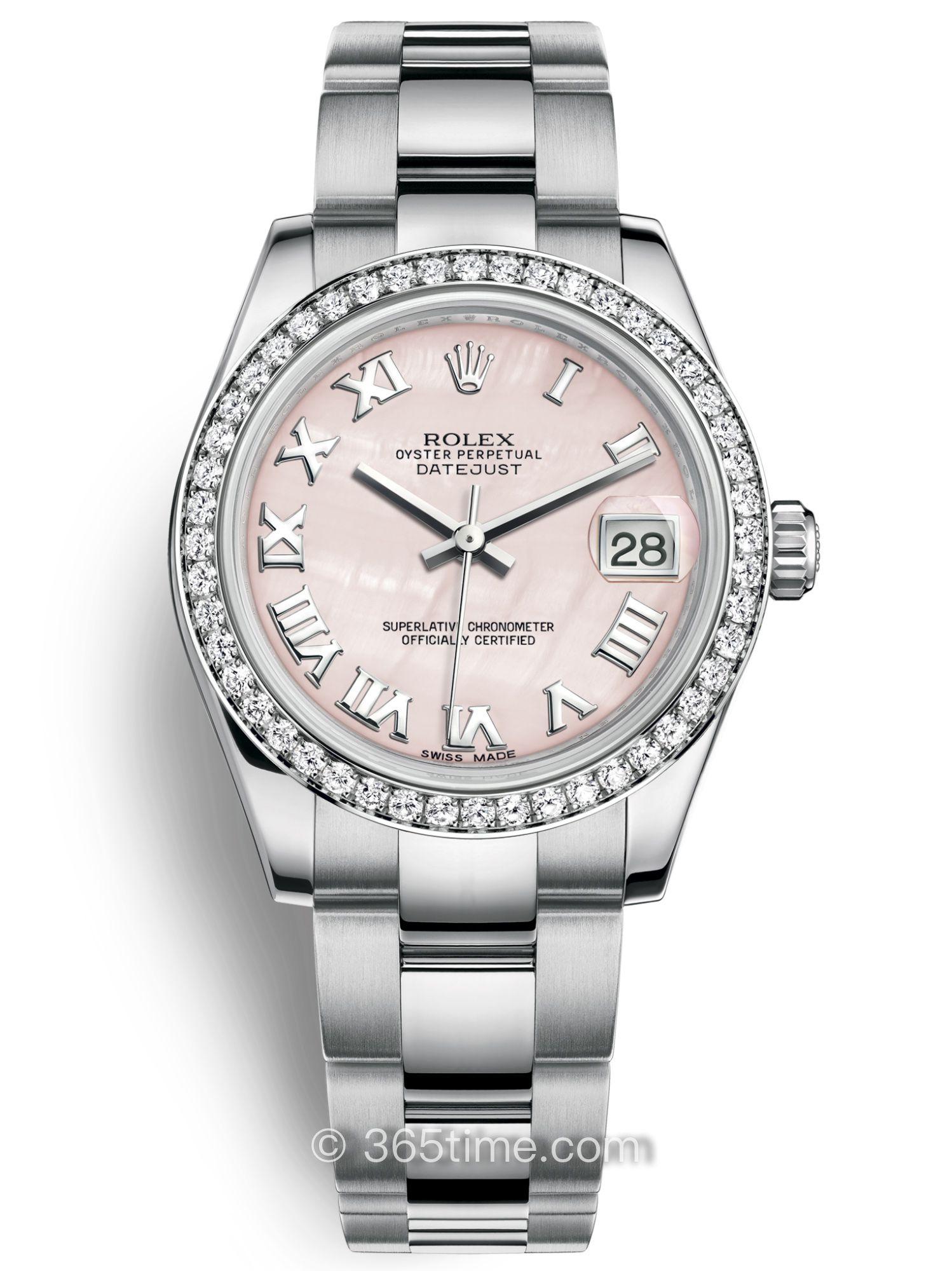 Rolex劳力士女装日志型31腕表178384-0068