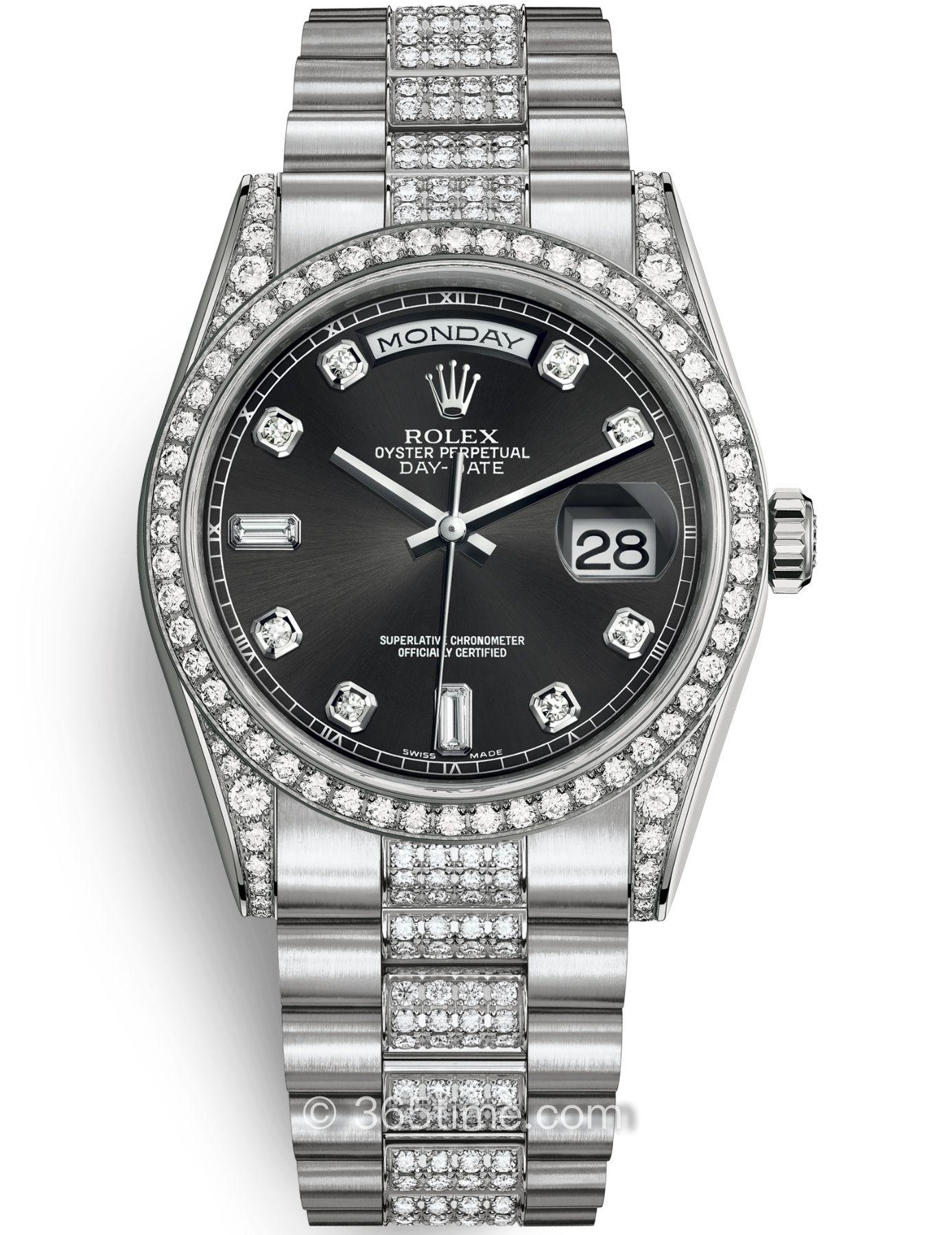 Rolex劳力士星期日历型36腕表118389-0022