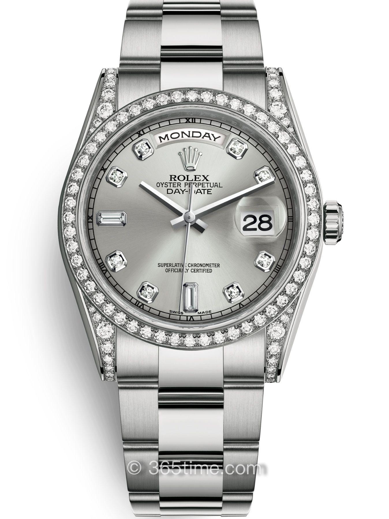 Rolex劳力士星期日历型36腕表118389-0072