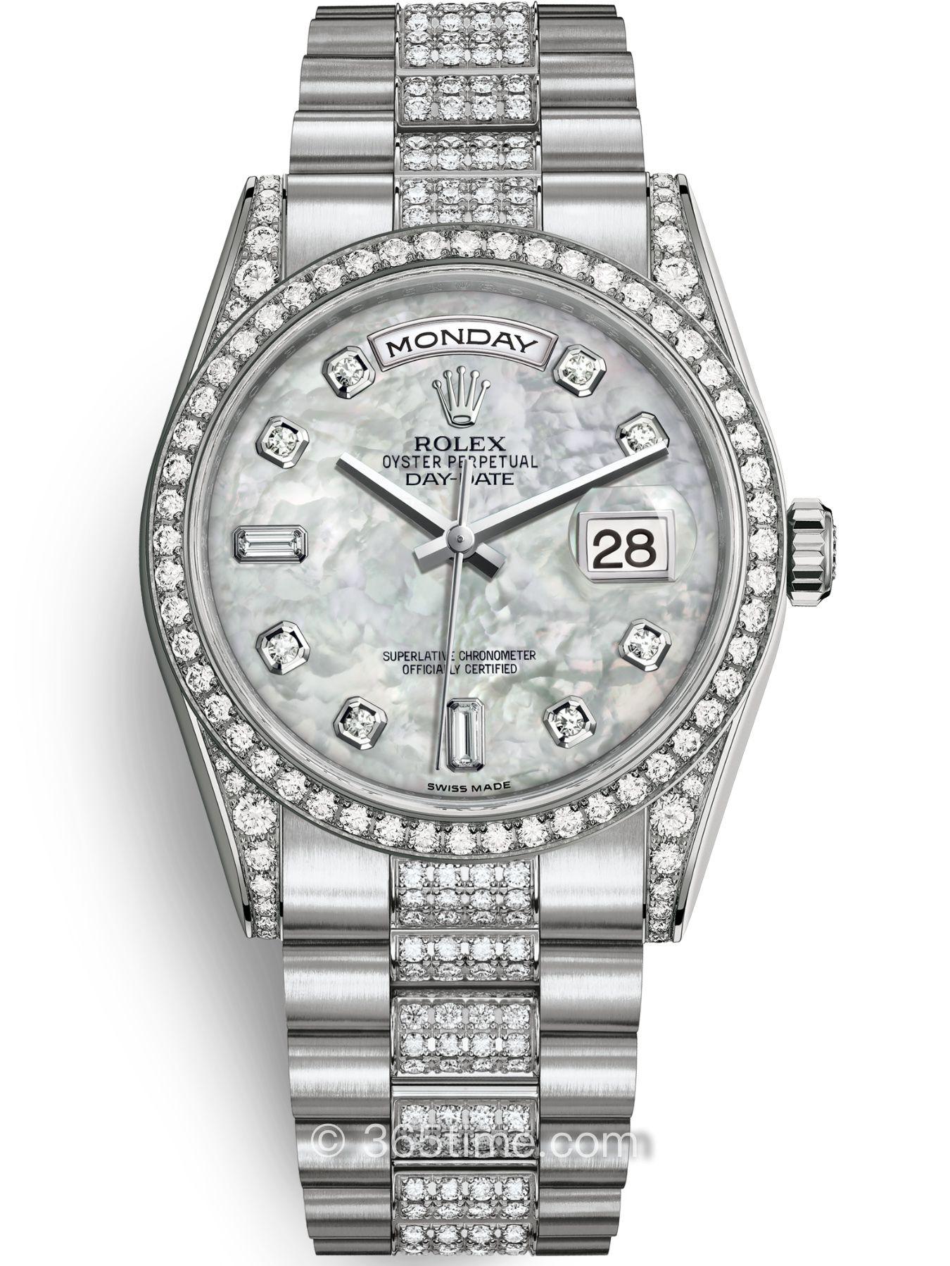 Rolex劳力士星期日历型36腕表118389-0074