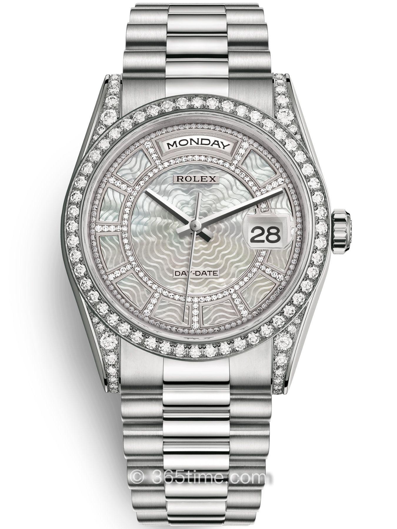 Rolex劳力士星期日历型36腕表118389-0085