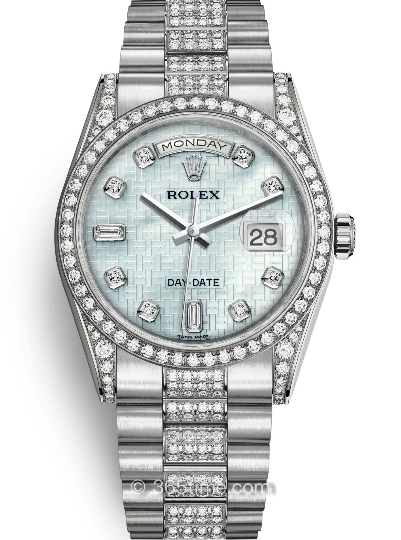 Rolex劳力士星期日历型36腕表118389-0094