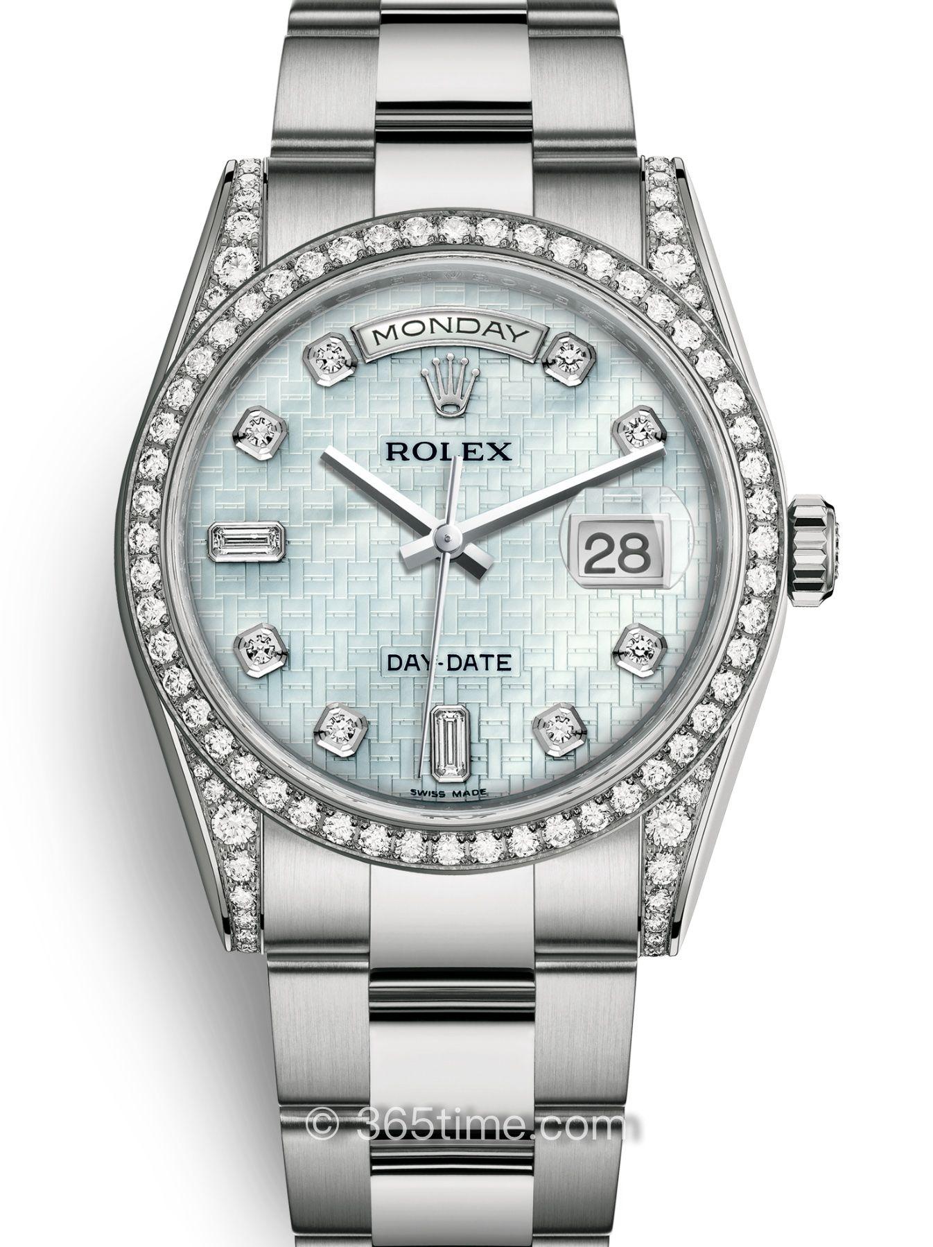 Rolex劳力士星期日历型36腕表118389-0096