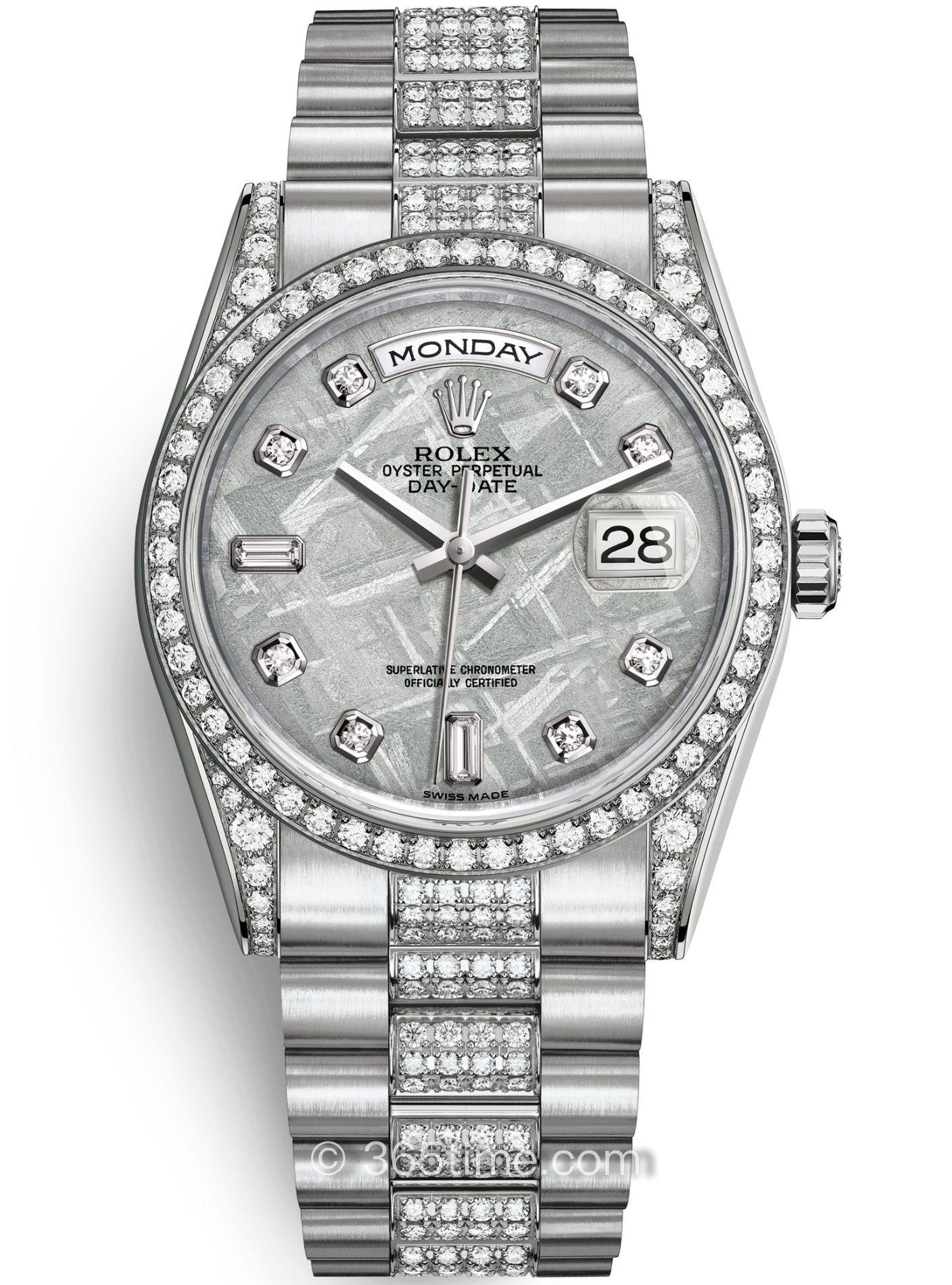 Rolex劳力士星期日历型36腕表118389-0101